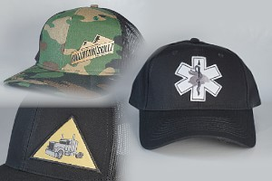 We create custom hats with logos, sayings or even photos.