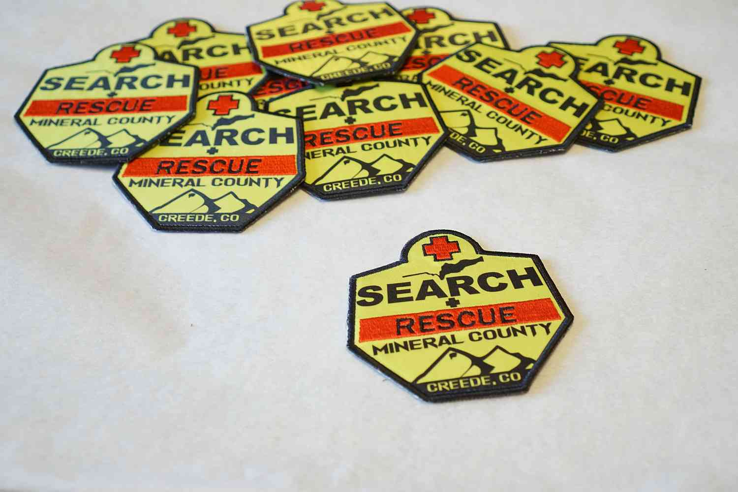 Custom Patch for Mineral County Search and Rescue